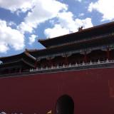 北京は快晴 チベッット巡礼